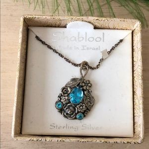 Shablool sterling silver necklace made in Israel